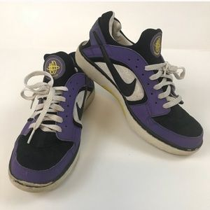 Nike Huarache Sneakers Shoes Lace up. 8.5 Purple